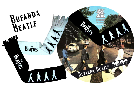 Bufandas The Beatles