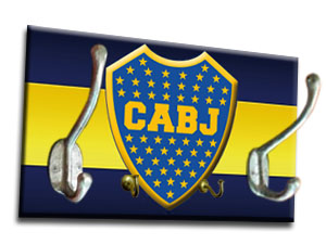 Perchero Boca Juniors